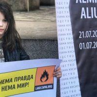 Mbështetje e partive për rastin e Almir Aliut